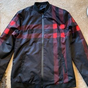 Other - Men's Bomber Jacket Casual Slim Fit Coat Size XL
